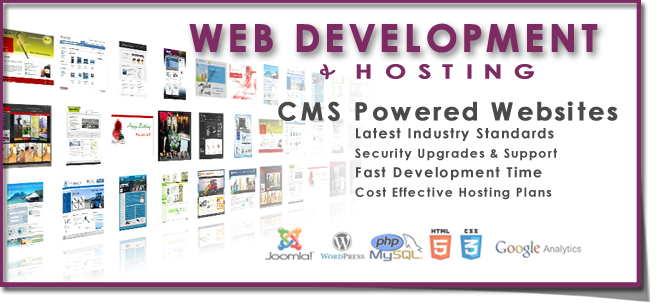 Web Design | Development + Hosting